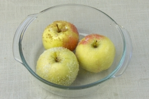 Суфле из яблок с манной крупой - фото шаг 3
