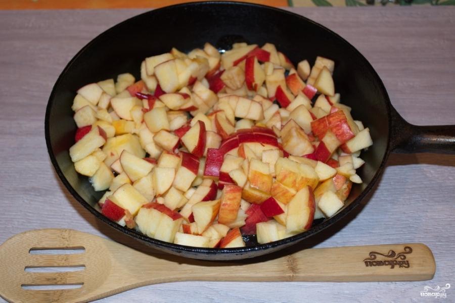 Слоеный яблочный пирог - фото шаг 3
