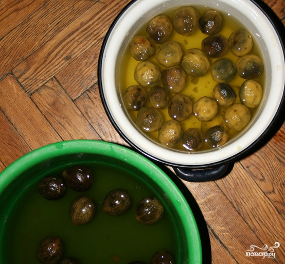 Варенье из зелёных грецких орехов - фото шаг 3
