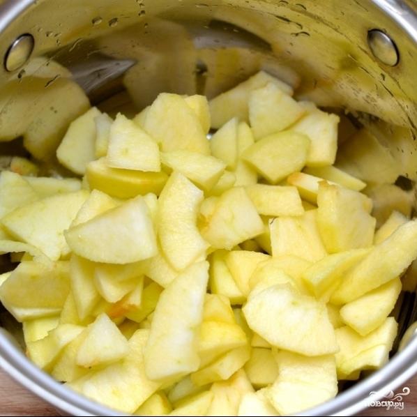 Рецепт Яблочный снег