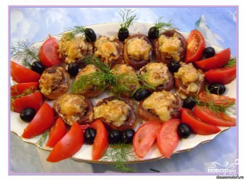 Рецепт Сушки с фаршем