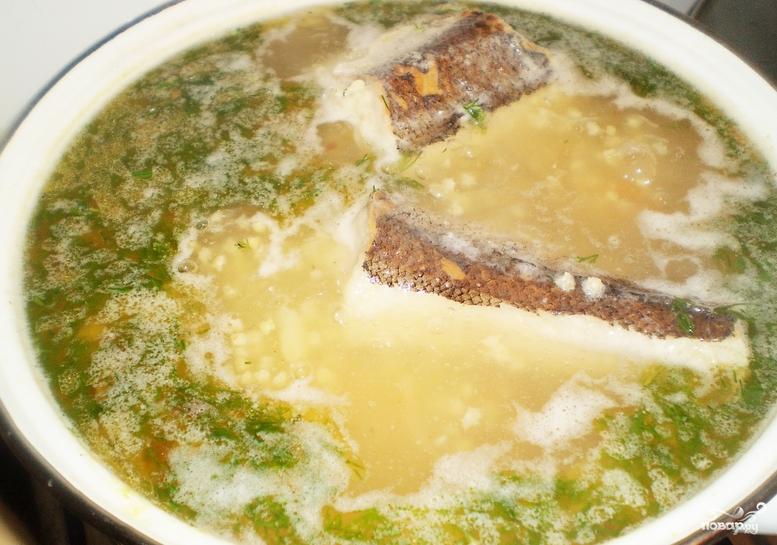 Суп из хека рецепт с фото