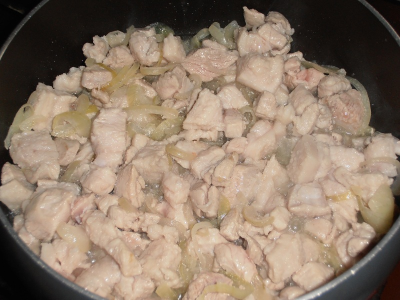Каша гречневая с мясом - фото шаг 5