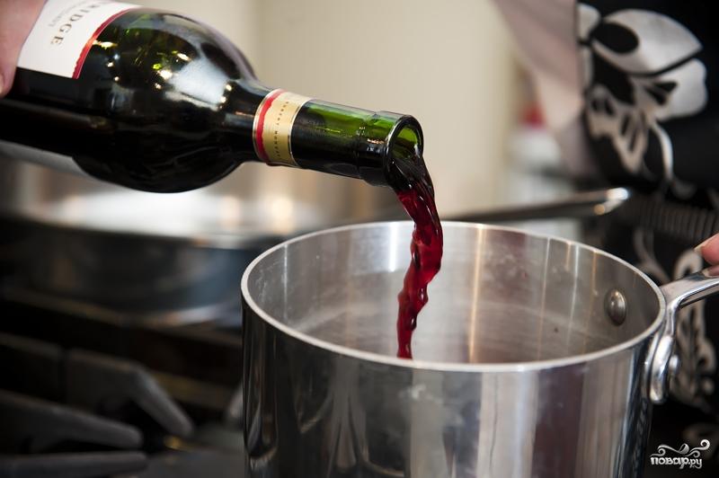 Рецепт Мясо в вине