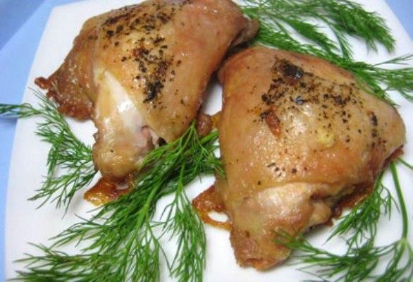 Курица кусочками в духовке - фото шаг 5