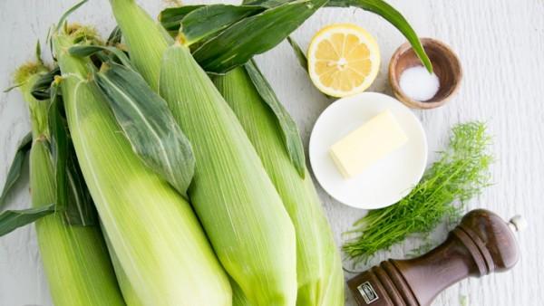 Рецепт Кукуруза в фольге на гриле