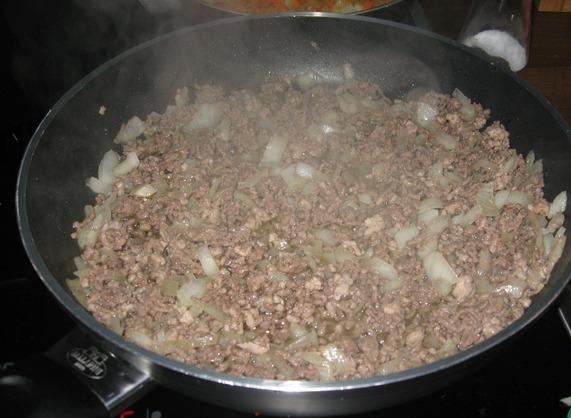 Запеканка рисовая с мясом - фото шаг 3