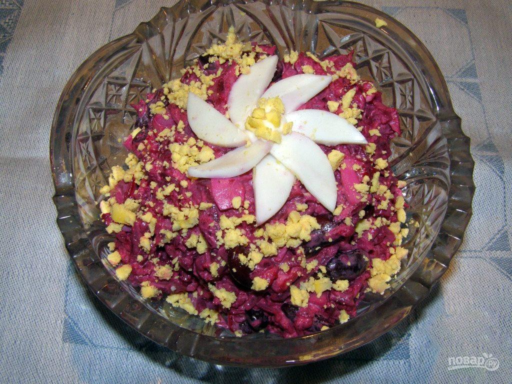 Салат с курицей и свеклой рецепт с