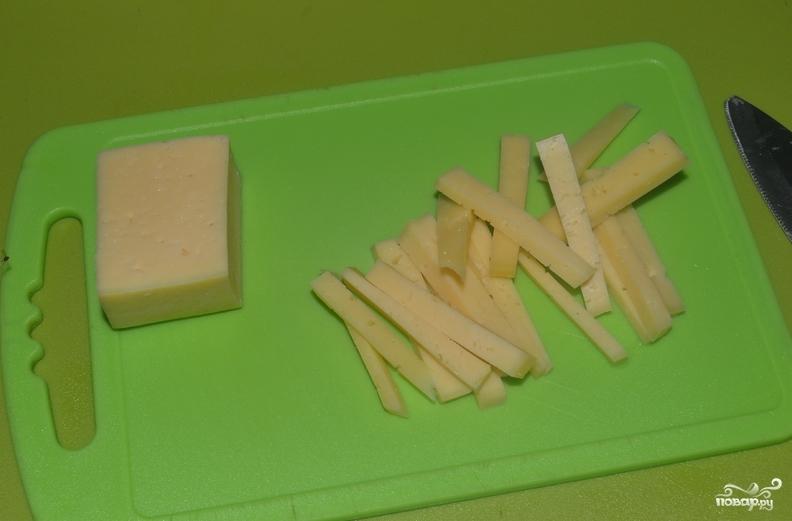 Рыбные котлеты с сыром - фото шаг 3