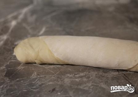 Слоеное тесто для самсы - фото шаг 9