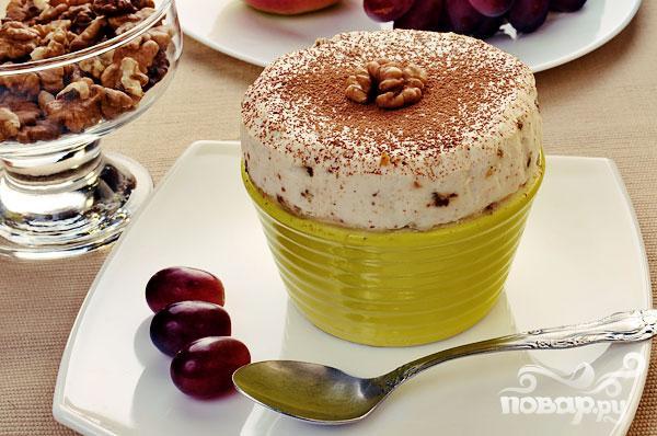 Парфэ с грецкими орехами и медом - фото шаг 6