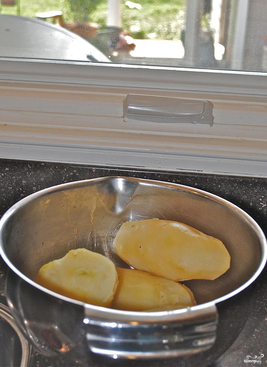 Рецепт Картофельный салат с сельдереем