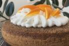 Шоколадный пирог с апельсинами