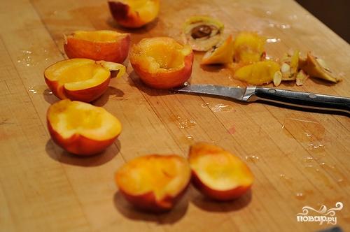 Персиковый десерт - фото шаг 2