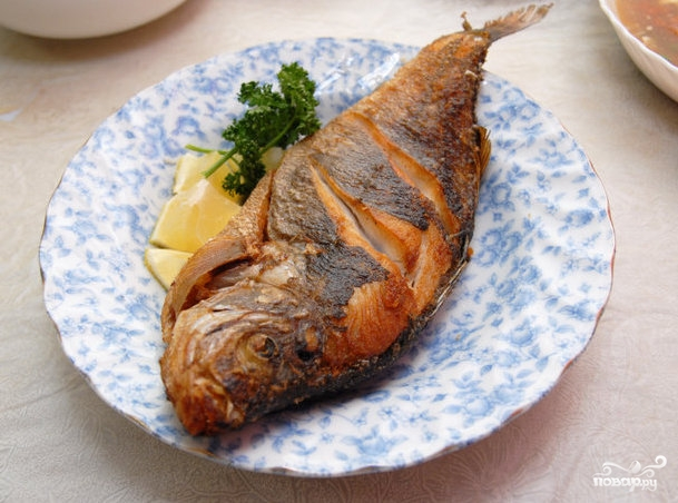 Рыба по-деревенски