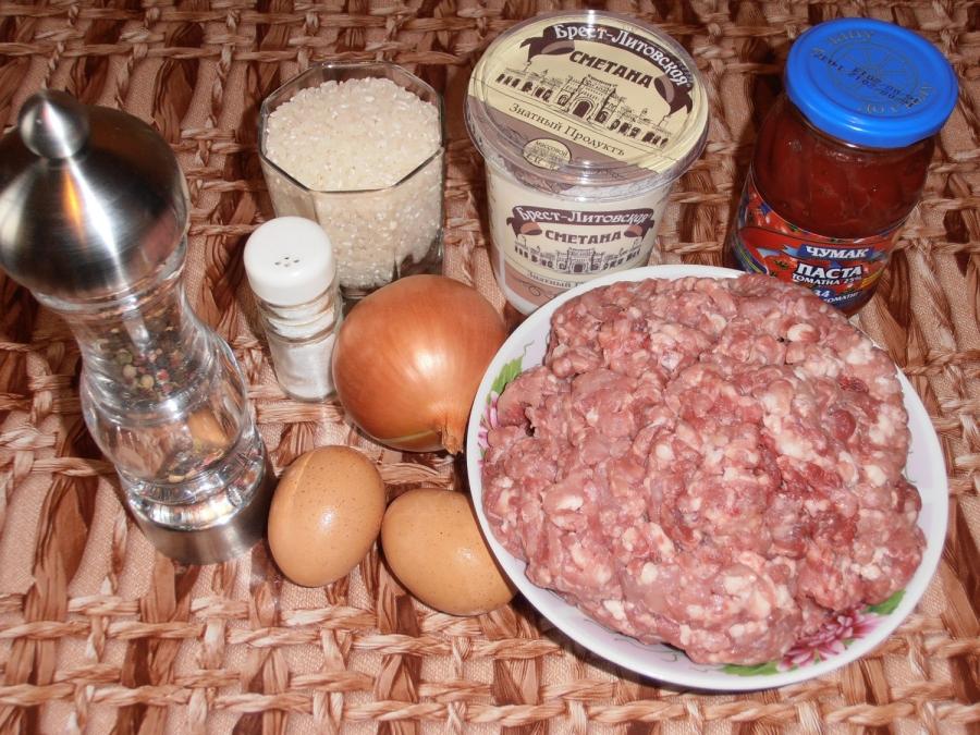 Тефтели томатном соке рецепт с фото