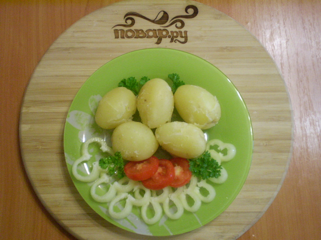 Картофель под чесночным соусом - фото шаг 8