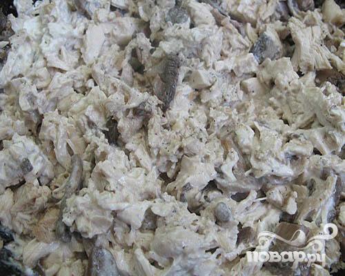 лазанья пошаговый рецепт с фото с грибами и курицей
