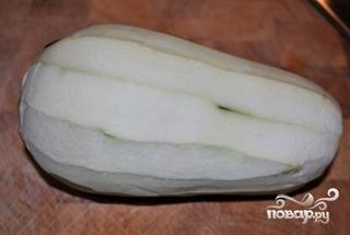 Салат из баклажанов с помидорами - фото шаг 1