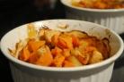 Сладкий картофель с яблоками