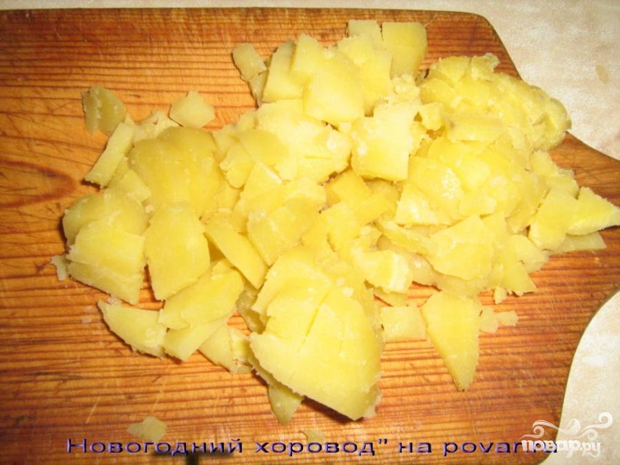 Салат с селедкой и яблоками - фото шаг 2