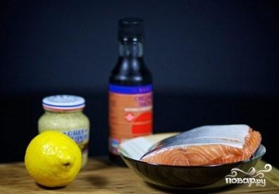 Рецепт Жареный лосось