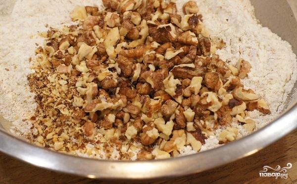 Кекс на ряженке без яиц - фото шаг 2