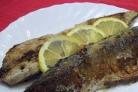 Рыба, запеченная на костре