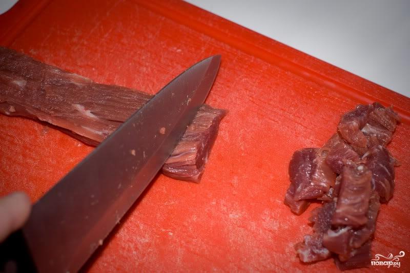 Мясо по-монгольски - фото шаг 2