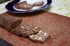 Шоколадная колбаска со сгущенкой
