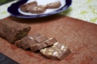 """Шоколадная """"колбаска"""" со сгущенкой"""