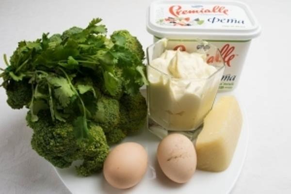 Рецепт Запеканка с брокколи и сыром