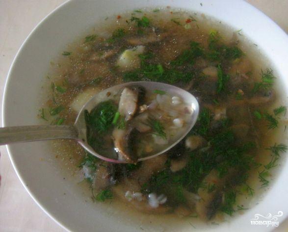 как готовить гречневый суп рецепт