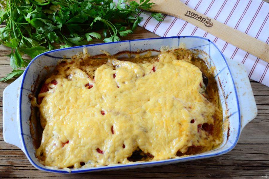 Баклажаны с куриной грудкой рецепт в духовке