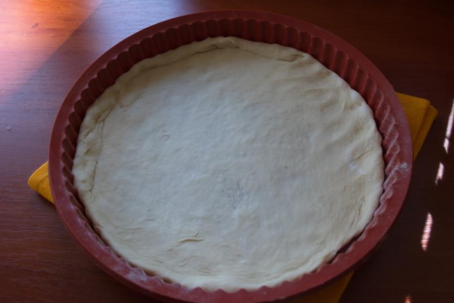 Рецепт Пицца с сосисками