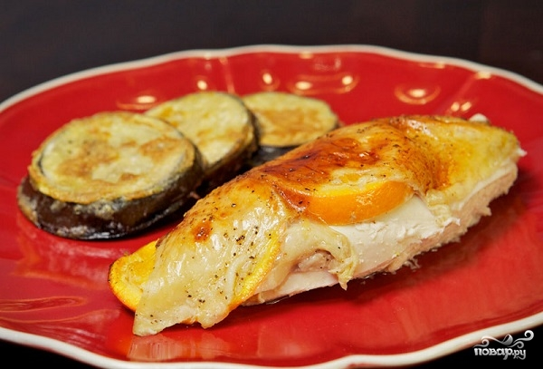 Курица под сладким соусом