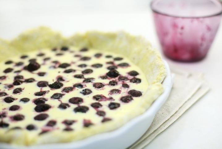 Финский черничный пирог - фото шаг 7