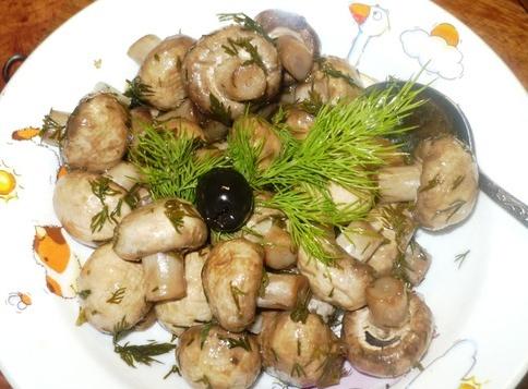 Быстрые маринованные грибы - фото шаг 4
