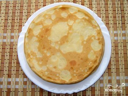 Блинный торт с вареньем - фото шаг 5