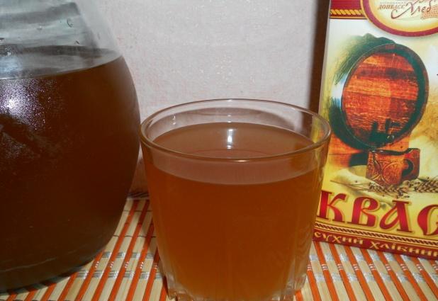 Квас из ржаных сухарей - фото шаг 4