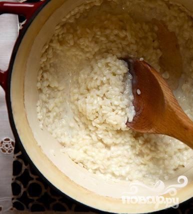Рисовый пудинг с ежевикой - фото шаг 2