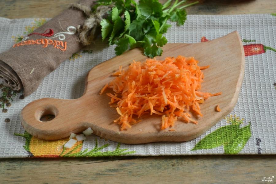 Вегетарианская паста - фото шаг 3