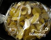 Молодой картофель в рукаве - фото шаг 4