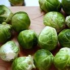 Рецепт Запеченная брюссельская капуста с каштанами