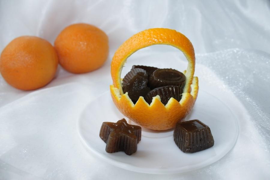 Рисово-апельсиновые конфетки  - фото шаг 7