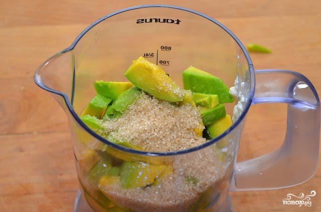 Паштет из авокадо - фото шаг 2