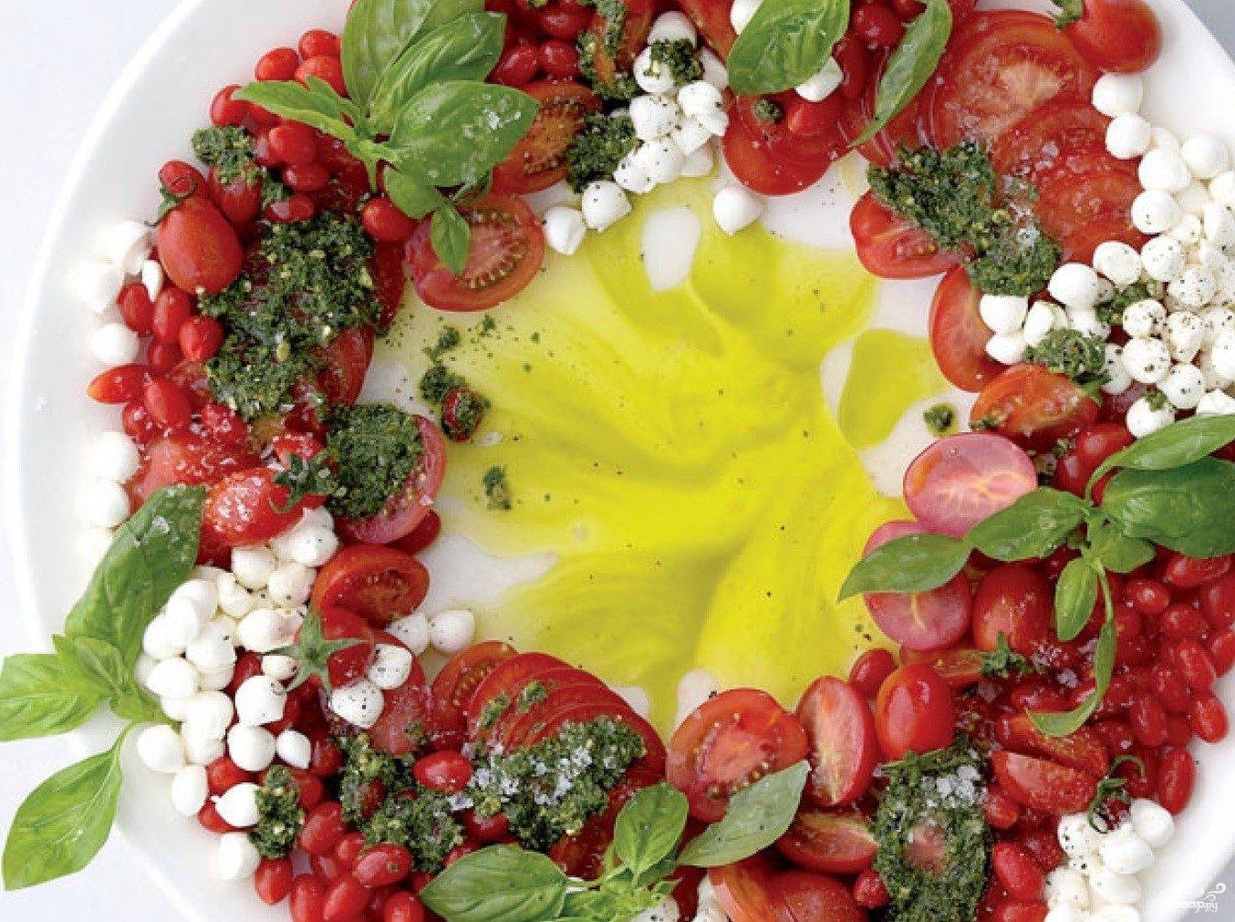 Рецепт Итальянская закуска на Рождество