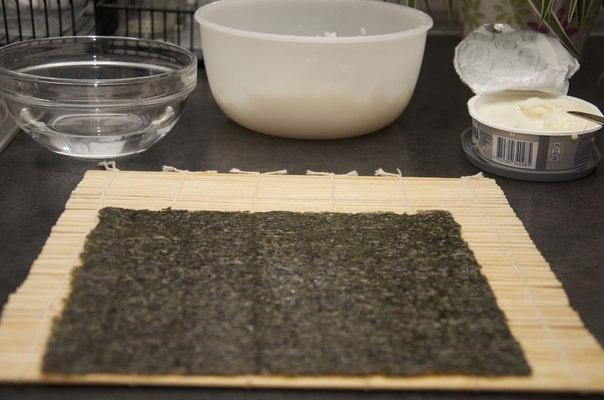 Суши с сыром - фото шаг 1
