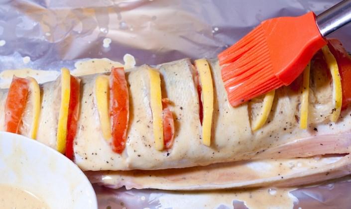 Судак под соусом в духовке - фото шаг 8