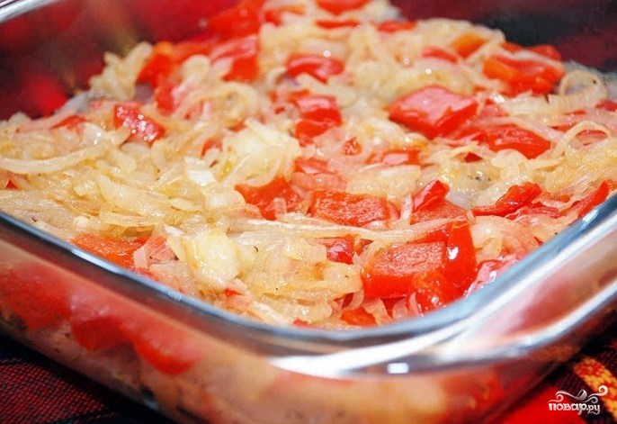 Рыба в духовке со сметаной и сыром - фото шаг 3